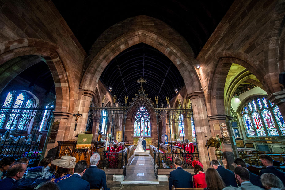 Tarporley Parish Church Wedding Photography