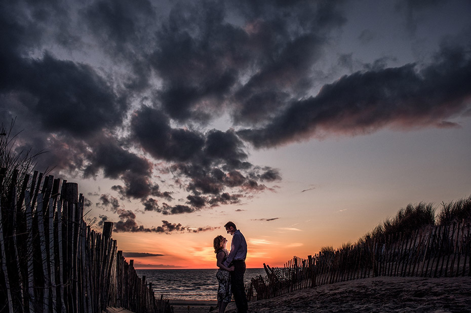 Pre Wedding Shoot with Sunset on the beach