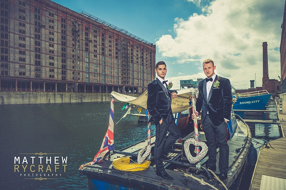 Liverpool's Titanic Hotel Wedding Celebrations