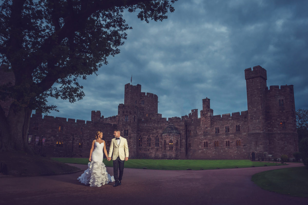 Peckforton Castle Wedding Day