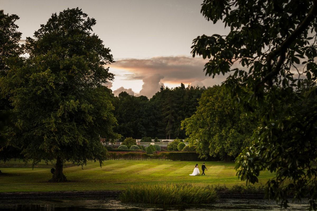 Knowsley Hall Wedding Day