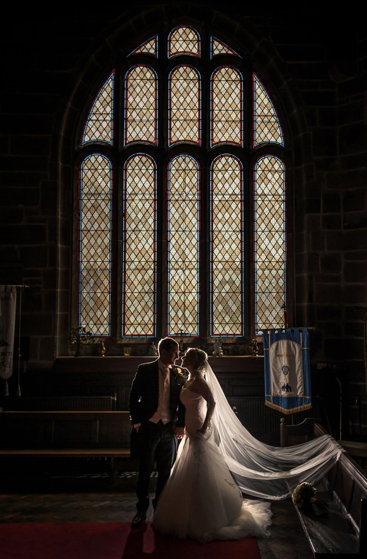 Church Wedding Photograph Modern