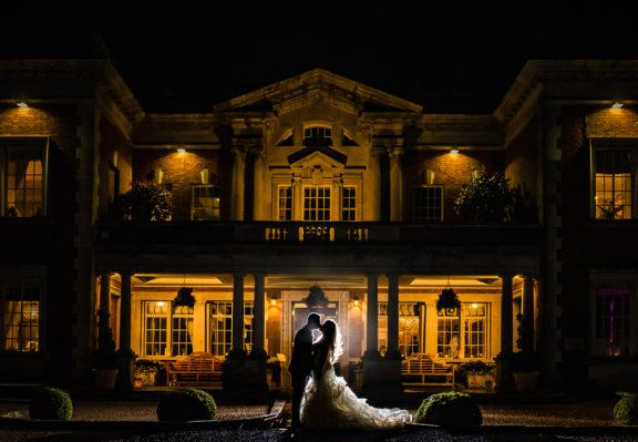 Eaves Hall Wedding Photography - Winter Wedding