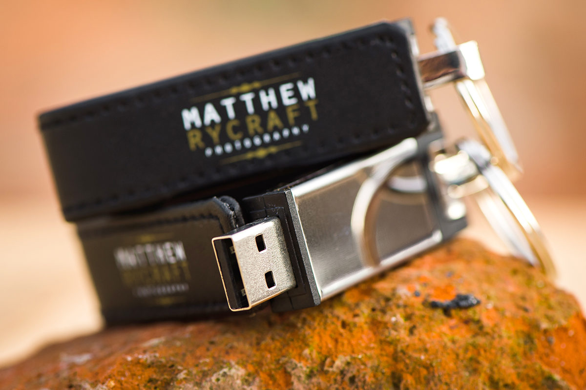 Customised Photography USB Sticks