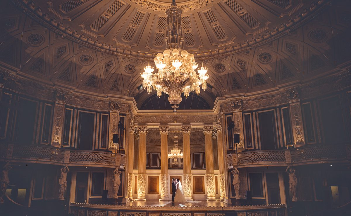 Inside St Georges Hall