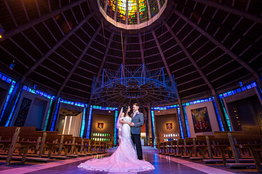 Liverpool Metropolitan Cathedral Wedding Photo