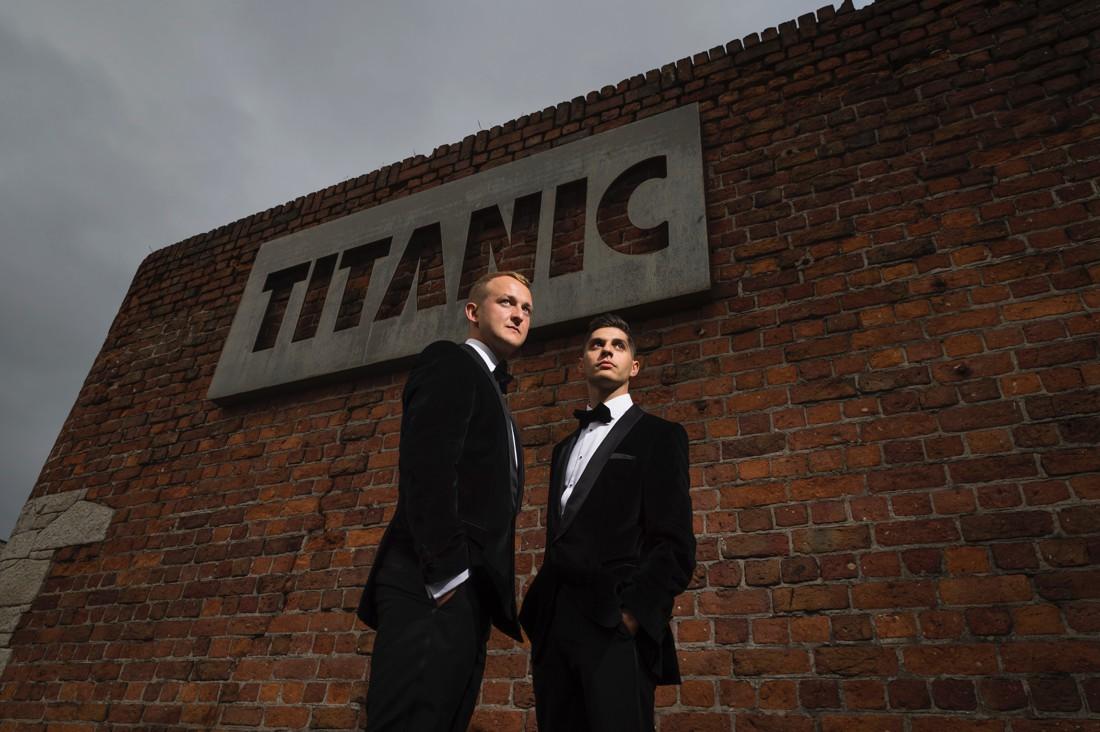 Liverpool's Titanic Hotel Wedding Celebrations