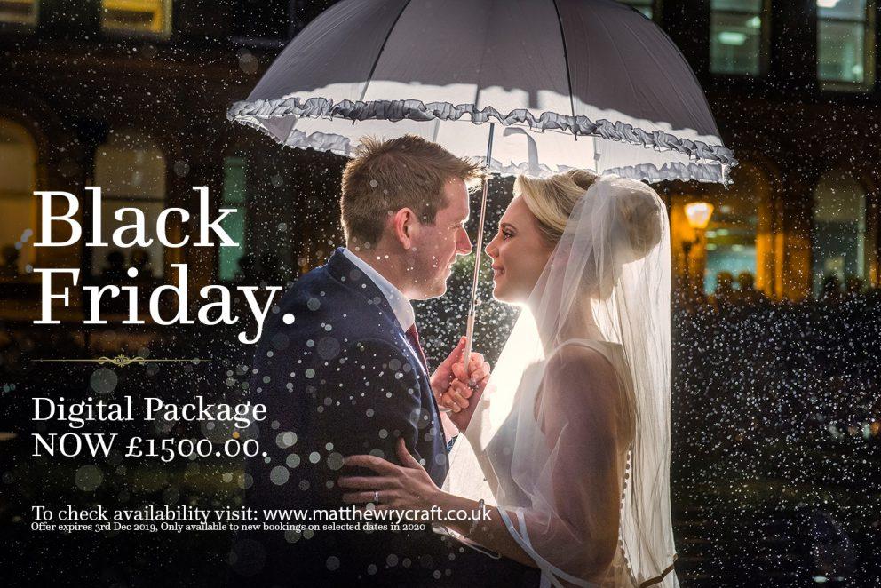 Black Friday Wedding Photography