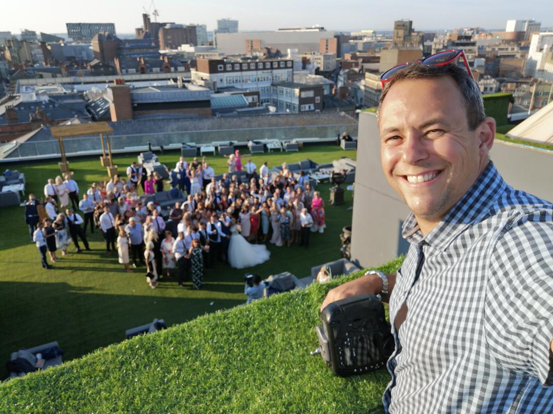 Wedding Photographer Behind the Scenes Selfie-01