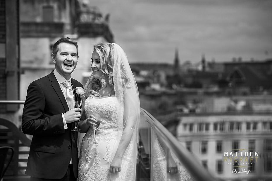 30 James Street Wedding Balcony