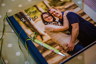 Personalised Wedding Guests books