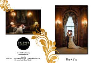 Personalise your wedding with a unique thank you