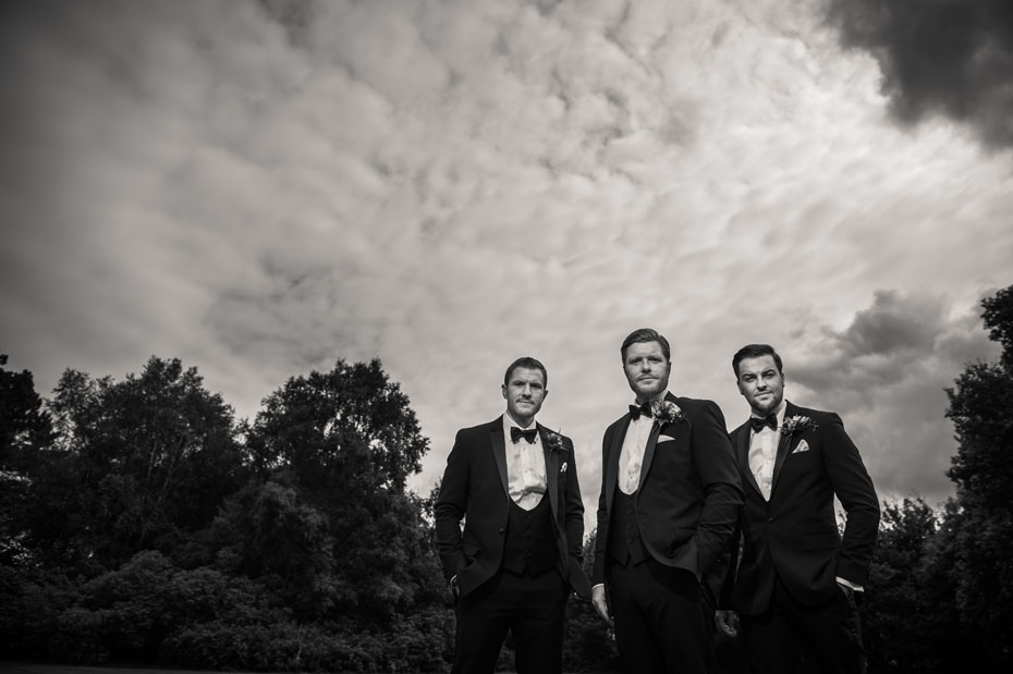 Groomsmen Wedding Photography Tuxedo