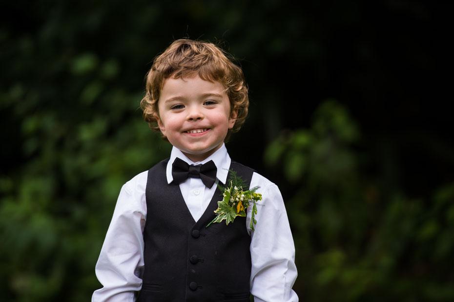 Pageboy Tuxedo