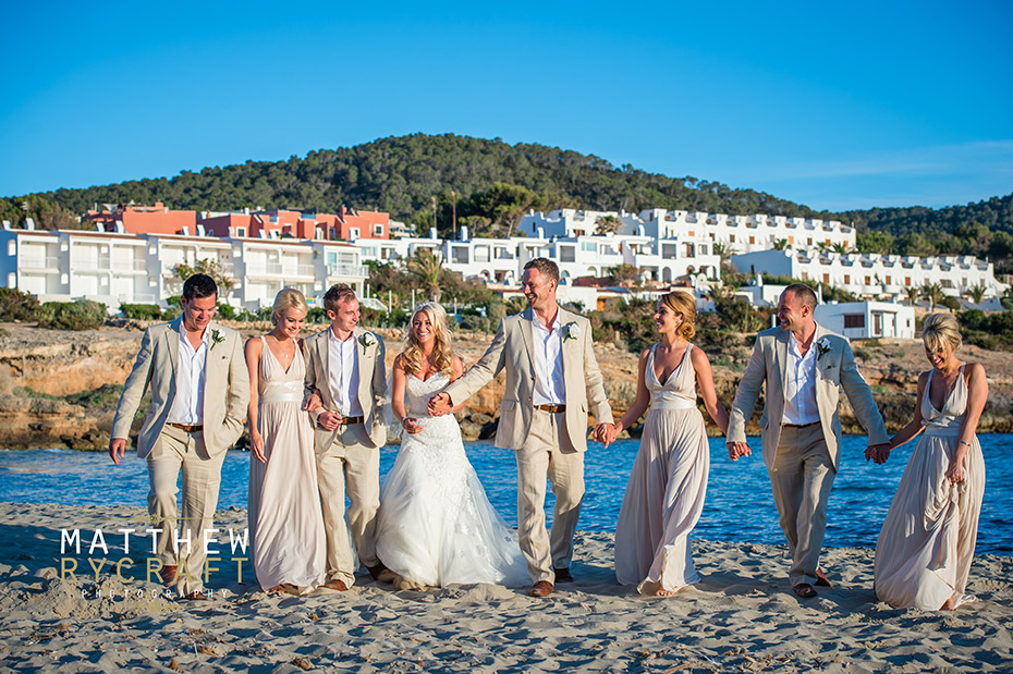 Bridal Party Abroad Wedding