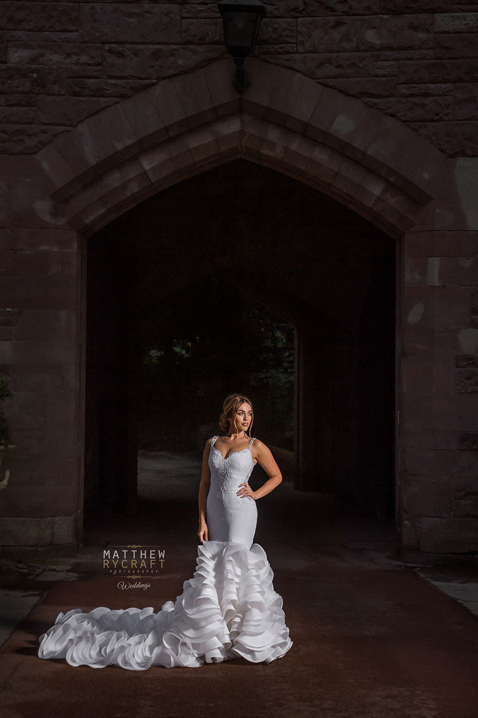 Bridal Portrait Philip Armstrong Liverpool