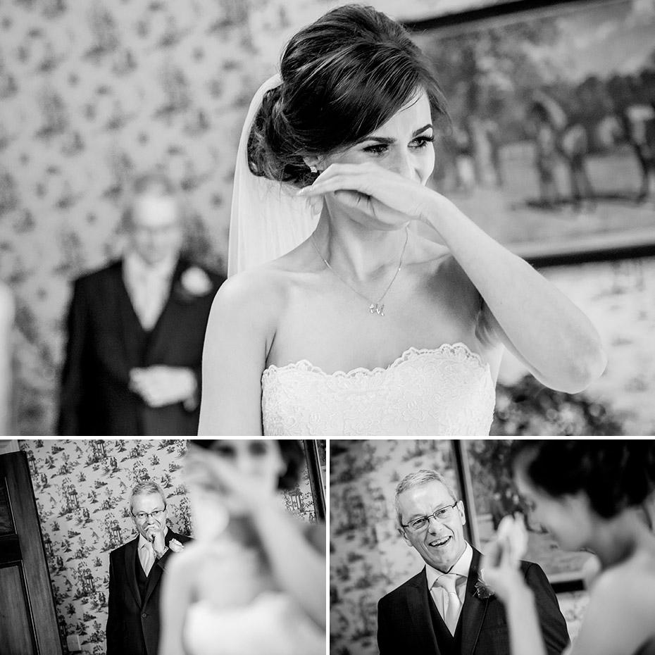 Bride & Father Wedding Day