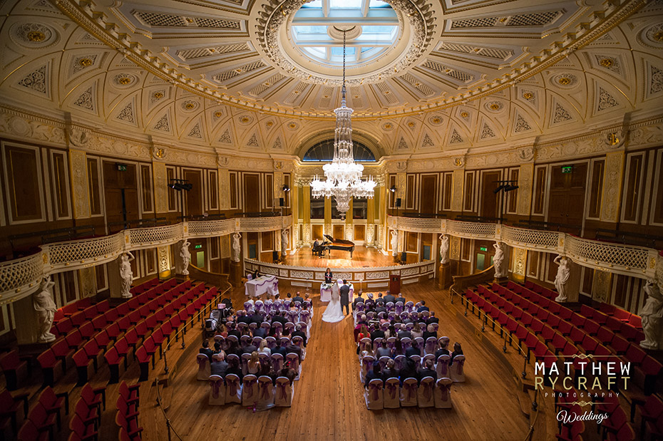 Wedding Ceremony St Georges Hall