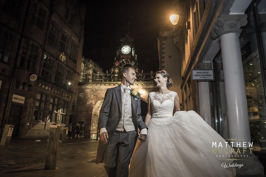 Chester Clock Wedding Photography
