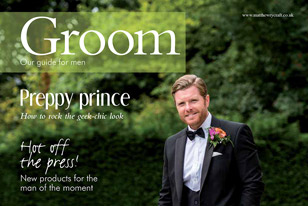Featured on the Cover of Groom 2016