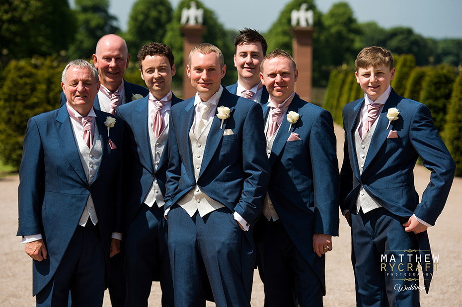 Grooms Suits Tailcoat Blue