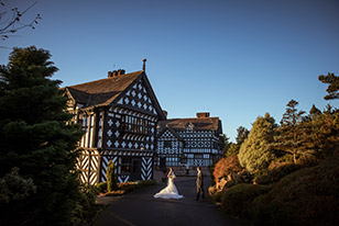Hillbark Hotel Wedding Sunset