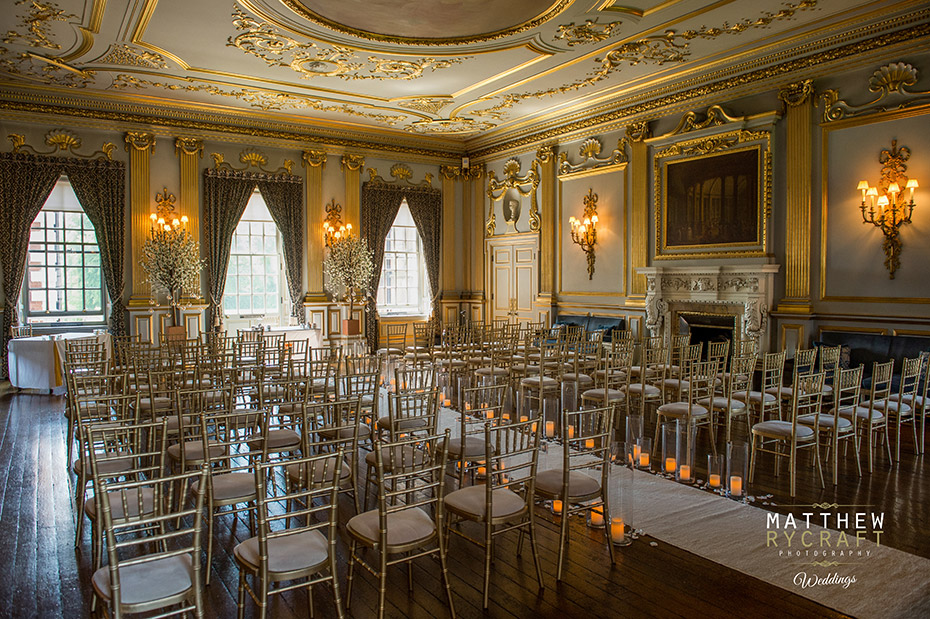 Knowsley Hall Wedding Room