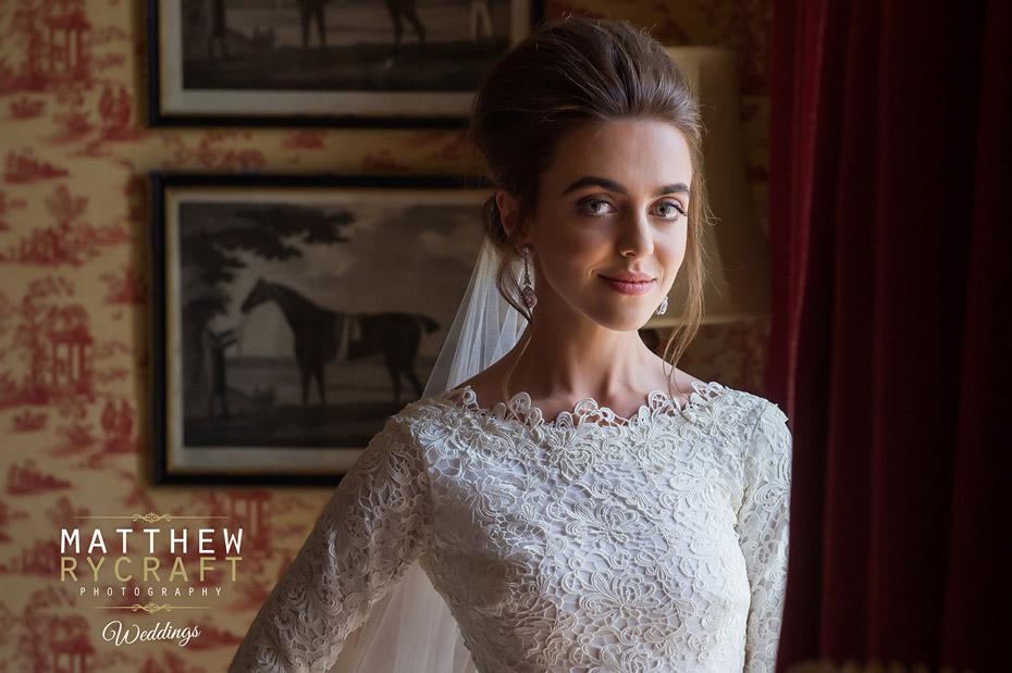 Bride at Knowsley Hall
