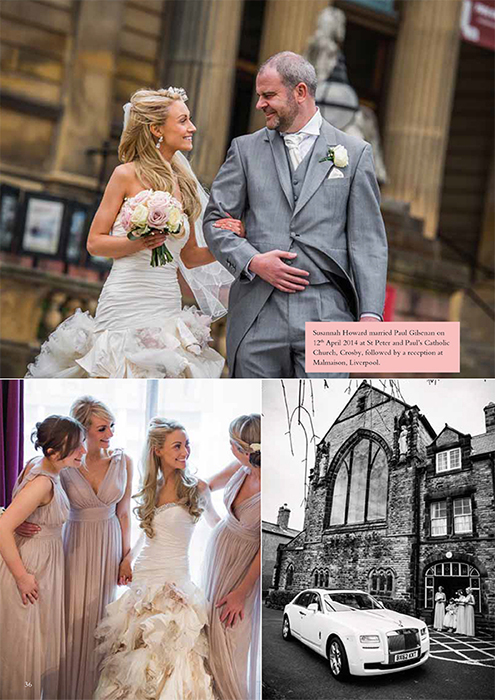 Real Wedding Article - Mal Maison Liverpool by Matthew Rycraft