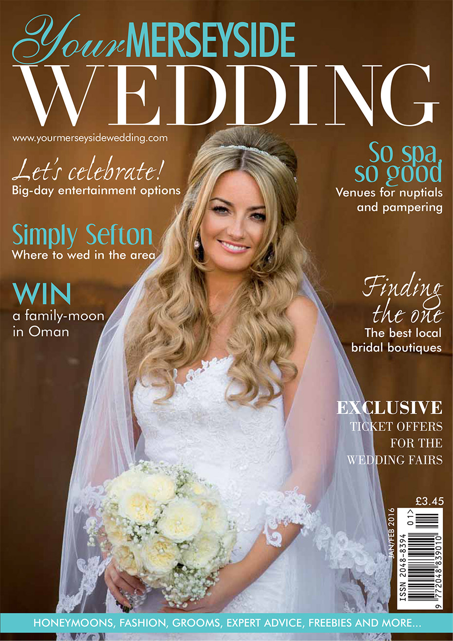 Wedding Magazine Front Cover 2016 - Matthew Rycraft
