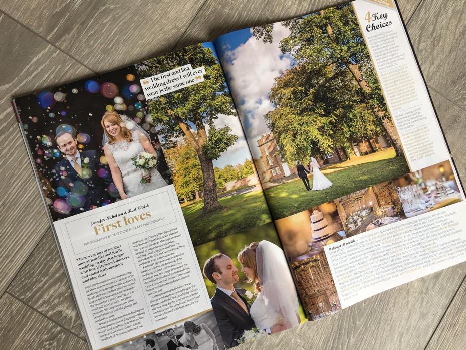Lancashire Bride Magazine - Matthew Rycraft Article