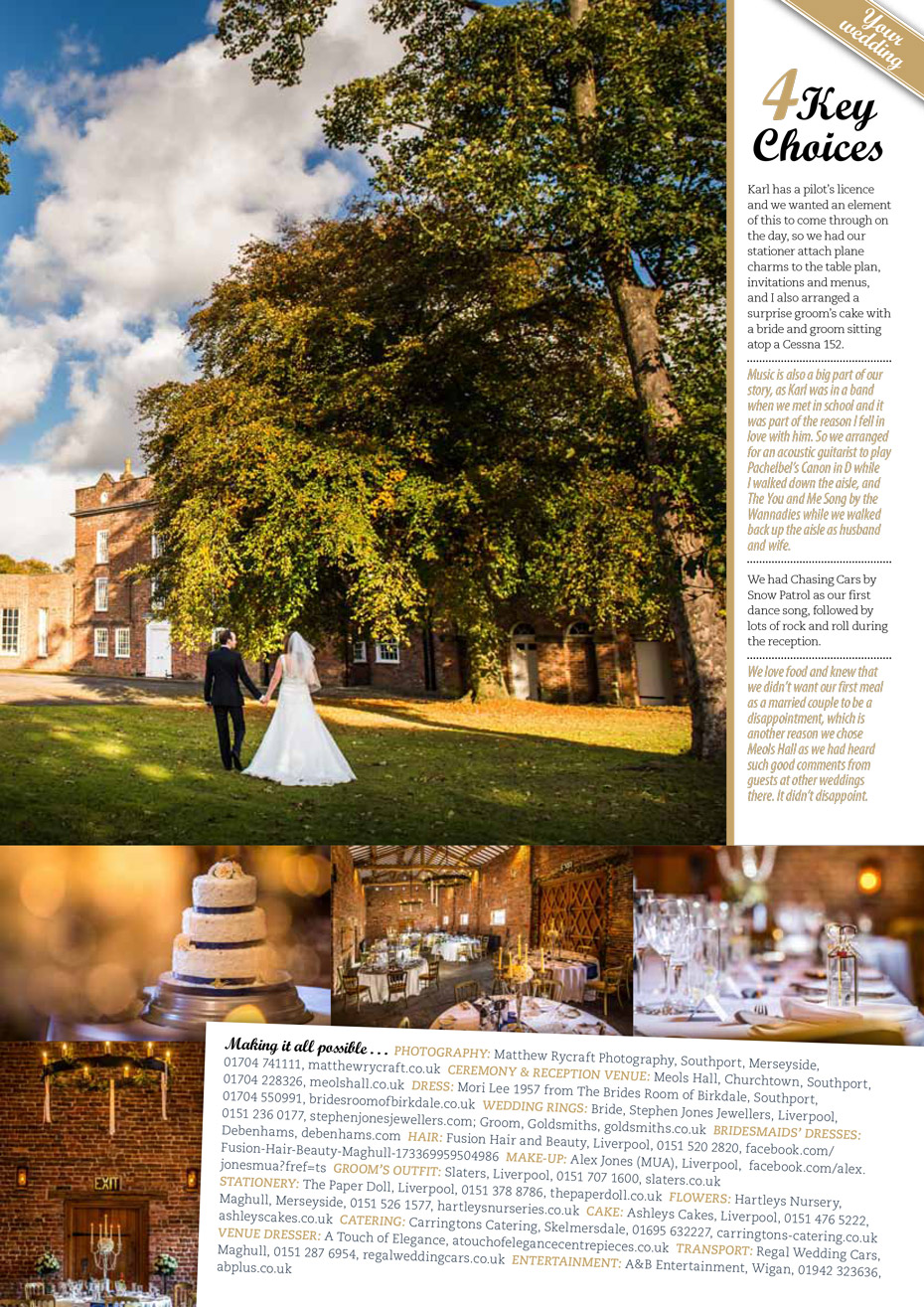 wedding cakes southport merseyside publised in lancashire magazine matthew rycraft 25497