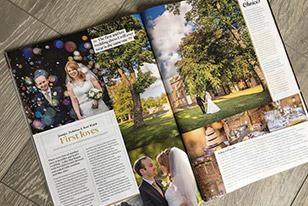 Publised in Lancashire Bride Magazine