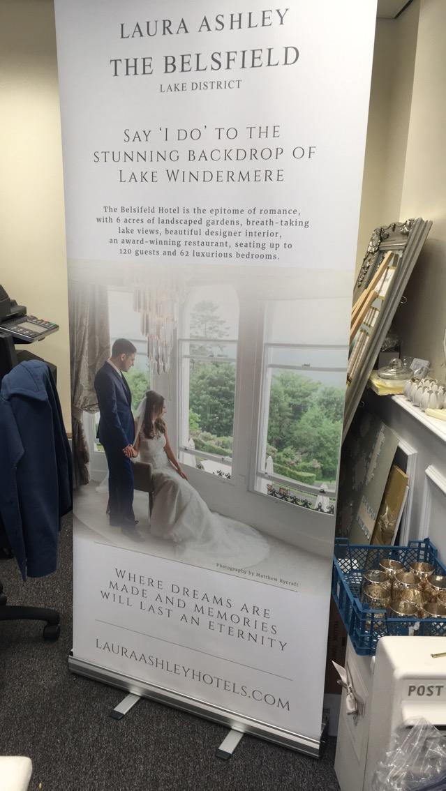 Laura Ashley Wedding Banner