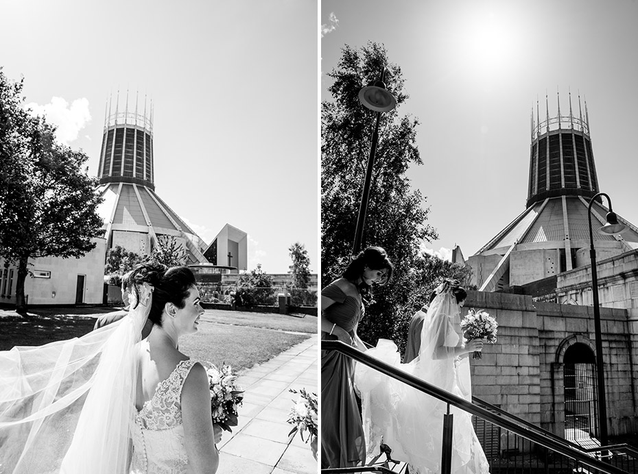 Liverpool Metropolitan Cathedral Wedding