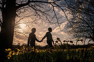 Sefton Park Engagement Shoot