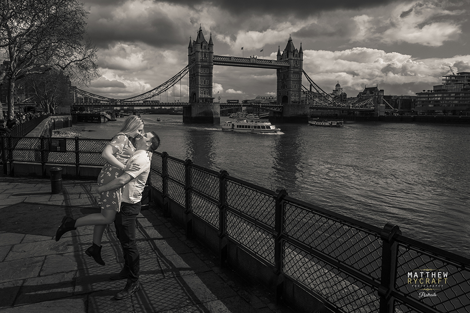 London Tower Bridge Pre Wedding Shoot