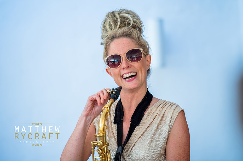 Lovely Laura saxophone Ibiza