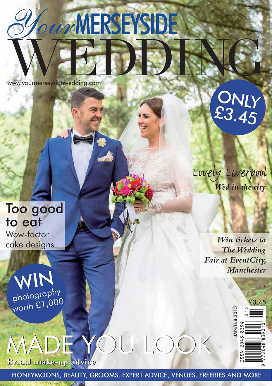 Nunsmere Hall - Matthew Rycraft Wedding magazine Front Cover