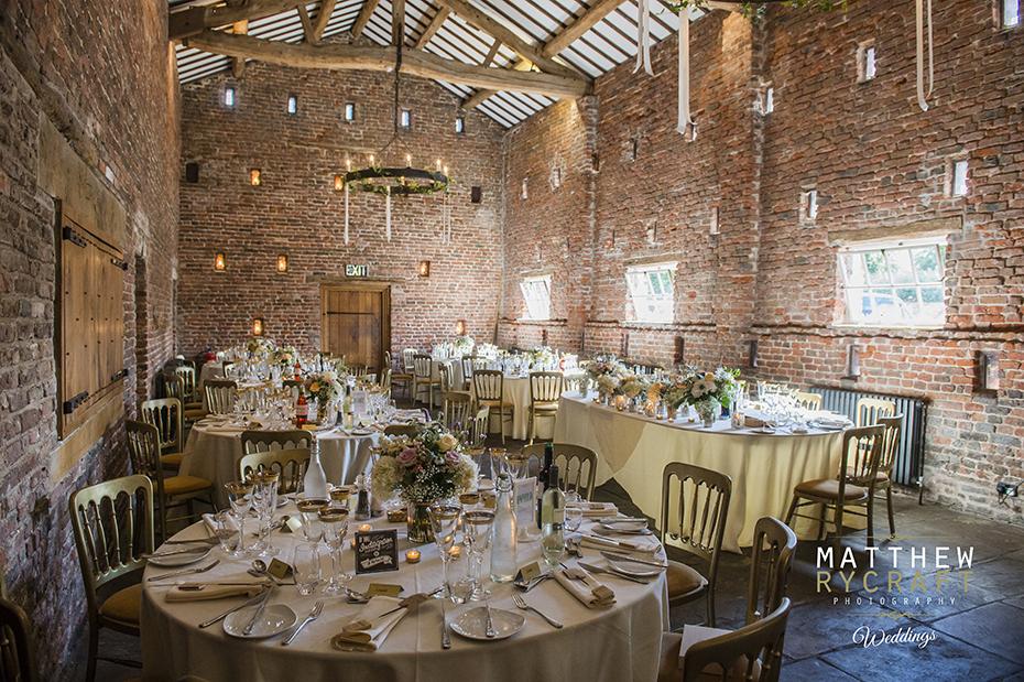 Tithe Barne Wedding