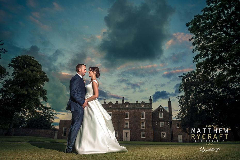 Night Wedding Photograph Speedlight