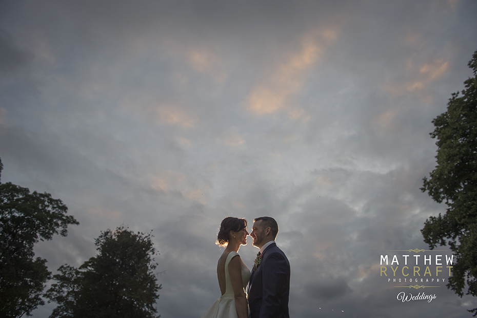 Evening Wedding Photograph