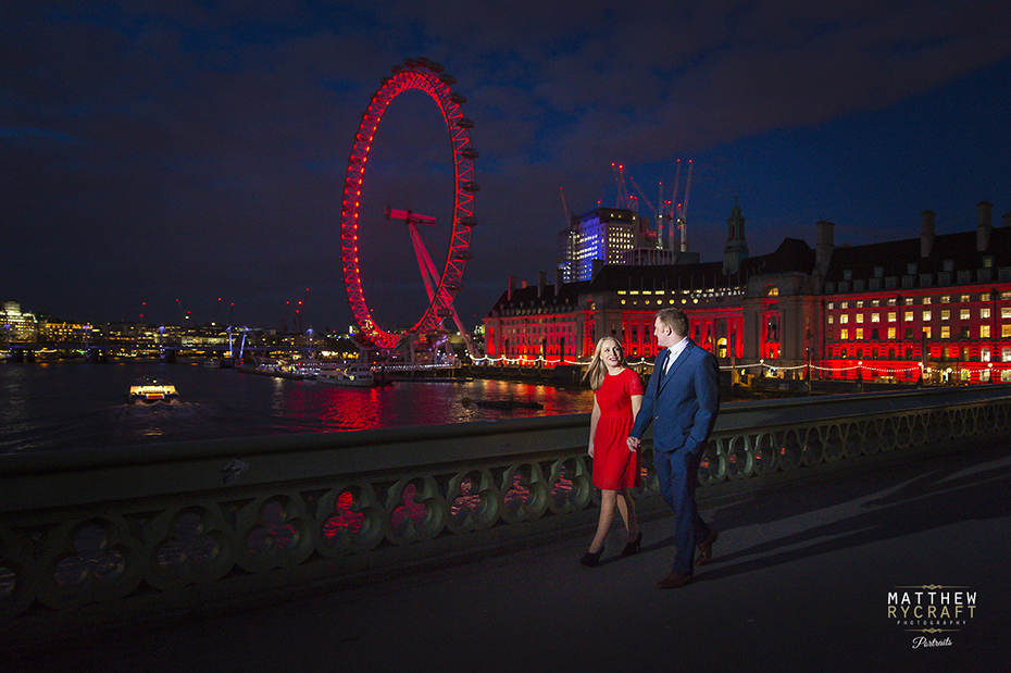 Pre-Wedding Shoot London Eye