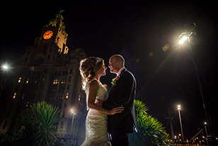 A perfect wedding day at Liverpool's Racquet Club