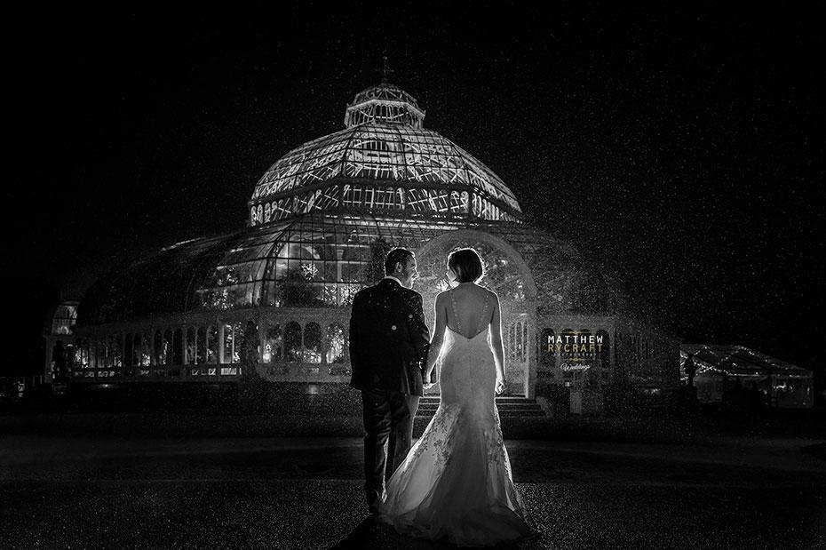 Sefton Palm House Wedding Winter