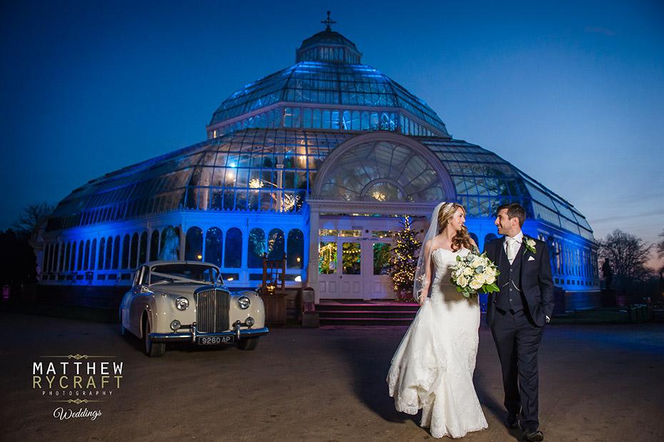 Sefton Palm House Winter Wedding