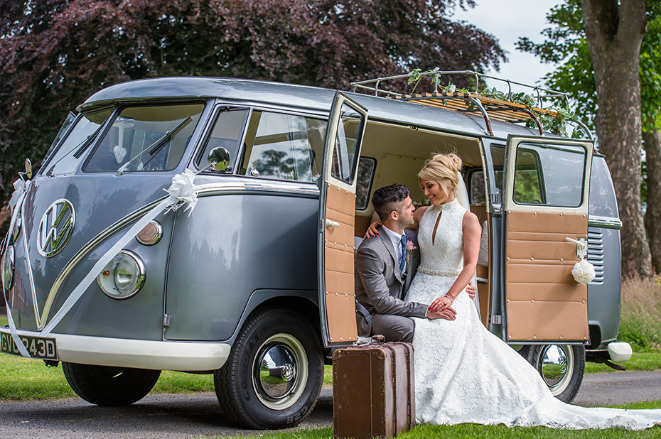 Wedding Volkswagen Campervans - Matthew Rycraft Photography