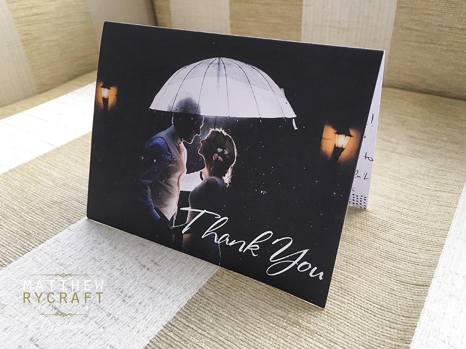 Thank You Card Matthew Rycraft