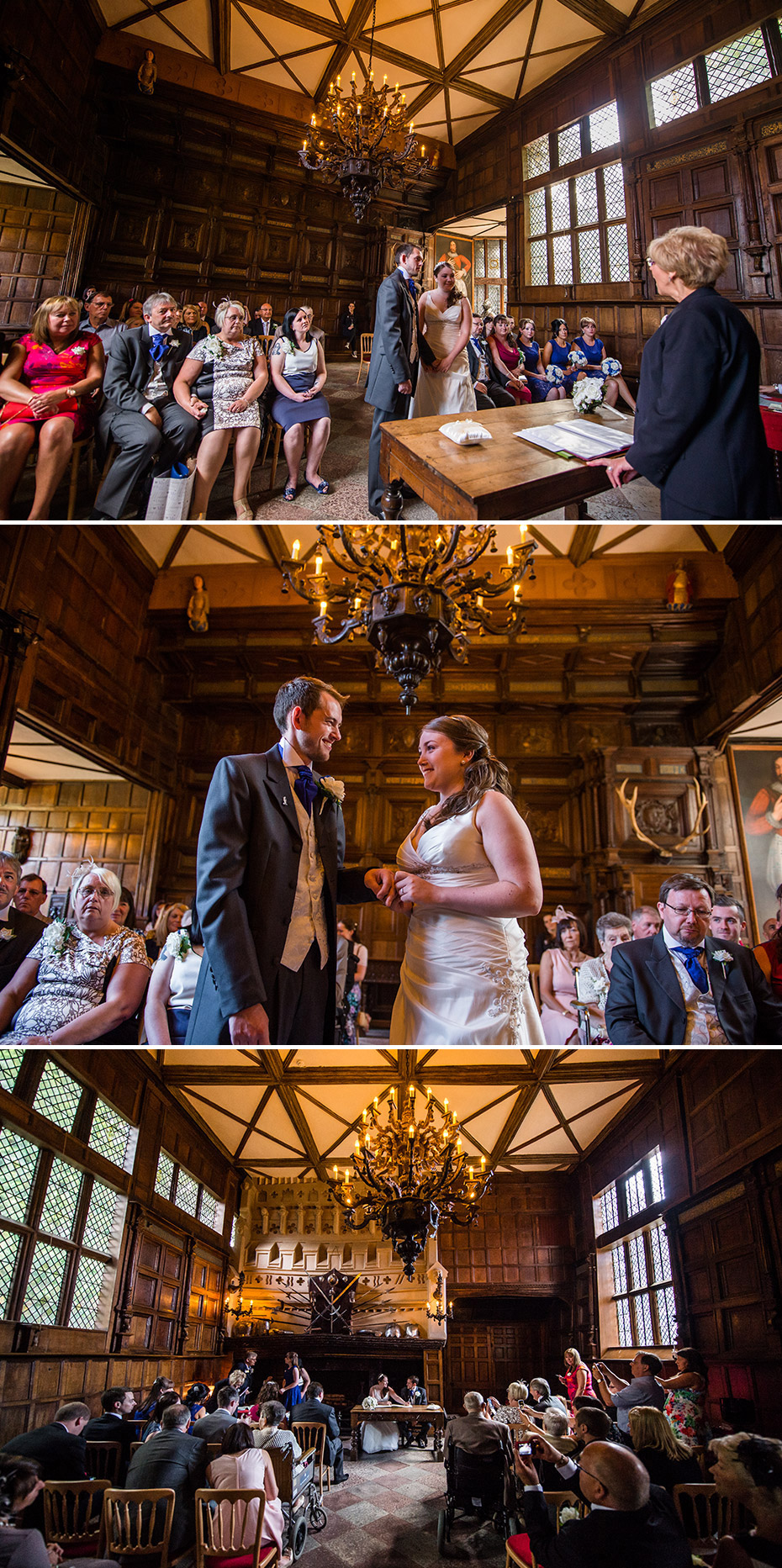 The Great Hall Wedding Speke Hall