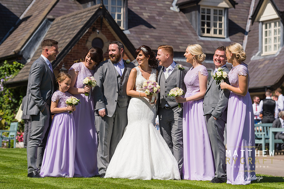 The Villa, Wrea Green Wedding